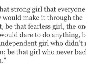 fearless, independent, and quotes image