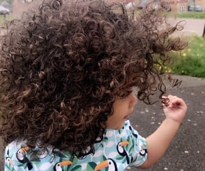 baby, kids, and hair image