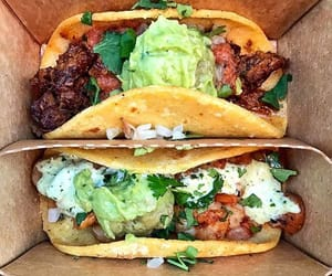 food, tacos, and mexican image