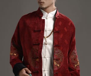men's clothing, chinese jacket, and chinese clothing image