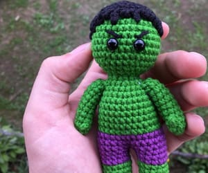 amigurumi, geek, and superhero image