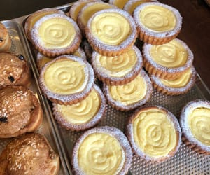 food, pastries, and tarts image