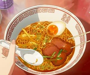 anime, egg, and food image