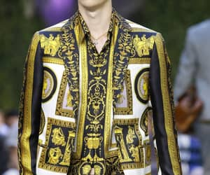 menswear, Versace, and ss 18 image