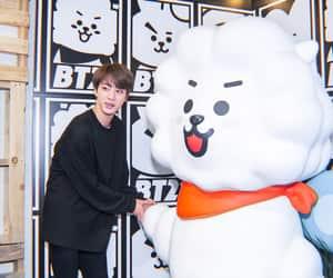 rj, seokjin, and kim taehyung image