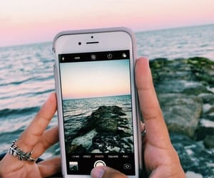 follow, travel, and iphone image