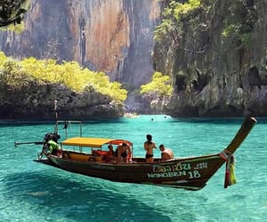 travel, nature, and thailand image