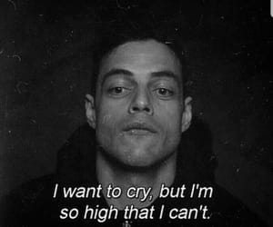 quotes, mr robot, and cry image