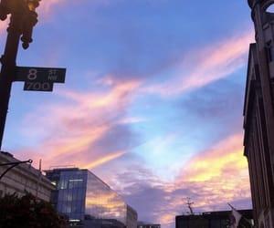 avenue, buildings, and escape image