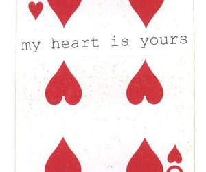 aesthetic, cards, and hearts image