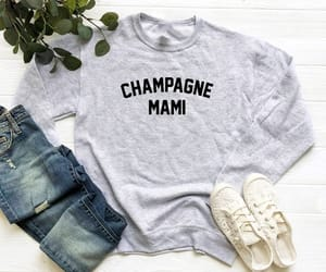 champagne, design, and women t shirt image