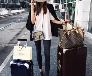 fashion, travel, and gucci image