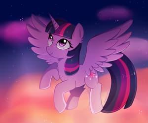 fan art, magic, and my little pony image