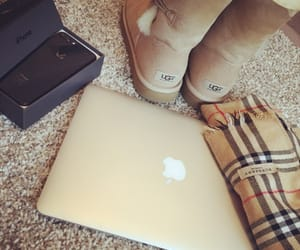 apple, Burberry, and look image