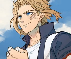 anime, anime boy, and all might image