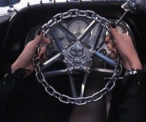 car, black, and satan image