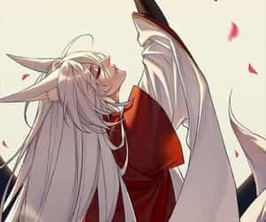 anime, kamisama, and tomoe image