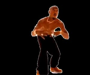 2pac, gif, and icon image