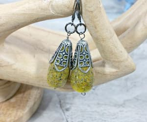 etsy, japanese style, and yellow jewelry image
