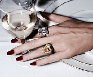nails, wine, and red image
