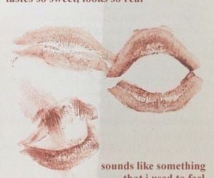 quotes, lips, and aesthetic image