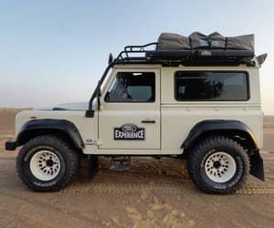 auto, desert, and travel image