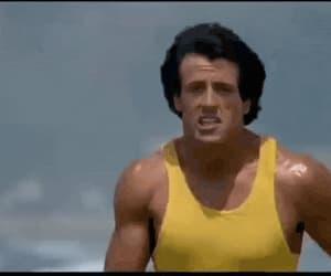 balboa, gif, and movie image