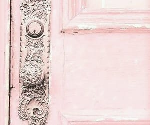 door, pink, and color pastel image