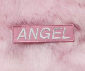 angel, pink, and pastel pink image