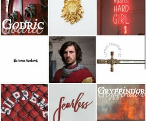 aesthetic, harry potter, and godric gryffindor image