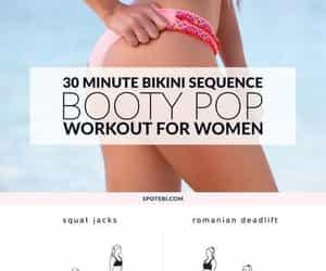 beauty, booty, and bikini image