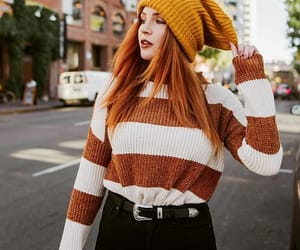 autumn, beauty, and brown image
