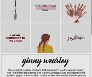 aesthetic, edit, and ginny weasley image