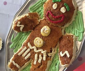 cake, delicious, and gingerbread man image