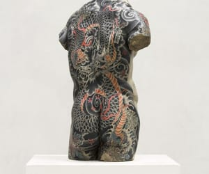 sculpture and tattoo image