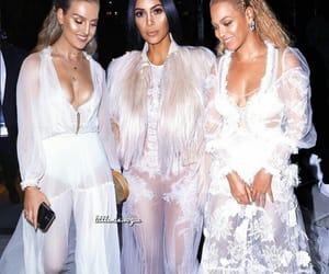 kim kardashian, perrie edwards, and beyoncé image