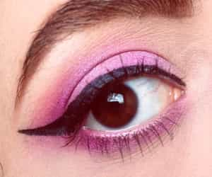 aesthetic, makeup, and pastelpink image