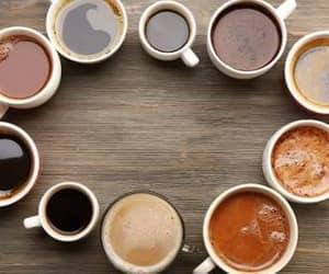 black coffee, coffee, and coffee cup image
