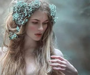 blonde, girl, and fantasy image