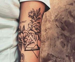 tattoo, beautiful, and girl image