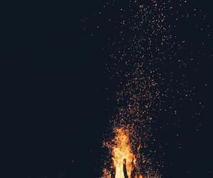 fire, wallpaper, and background image