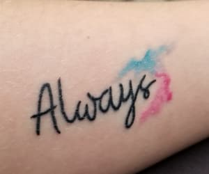 always, arm tattoo, and blink182 image