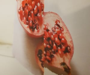 food, juicy, and pomegranate image