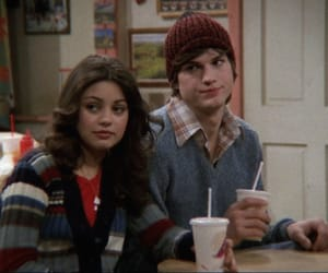 that 70s show, ashton kutcher, and couple image