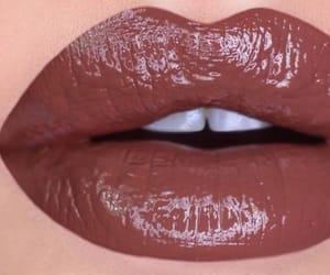 lip gloss, lipgloss, and lipstick image