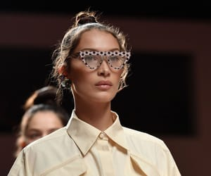 model, outfit, and Prada image