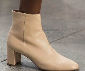 boots, fashion week, and neutrals image