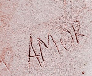 love, ​amor, and pink image