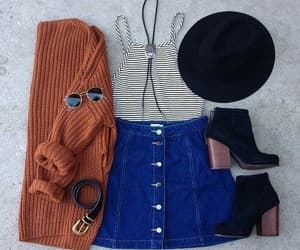 bohemian, cute outfit, and cute style image