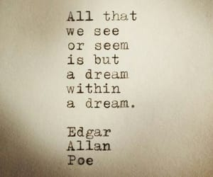 Dream, edgar allan poe, and quotes image